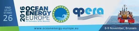 OPERA will be present at Ocean Energy Europe 2016 Conference & Exhibition (OEE2016) that will take place the 8-9 November in Brussels