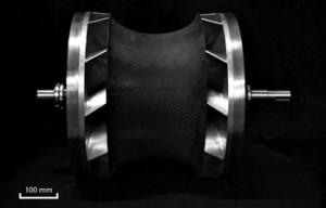 Biradial rotor