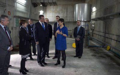 Maros Šefčovič, EC Vice-President visits the Mutriku Wave Plant