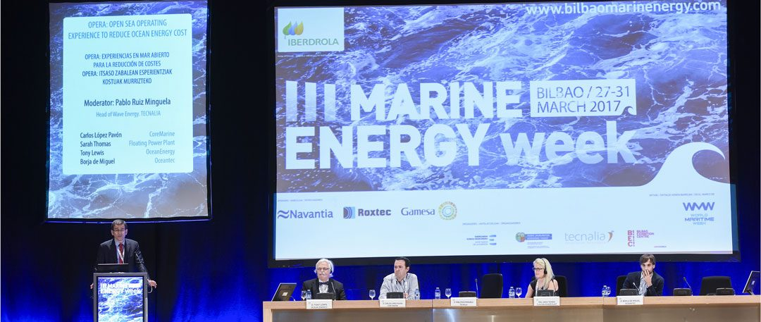 First practical experiences of open-sea operation. Workshop at the Bilbao Marine Energy Week 2017